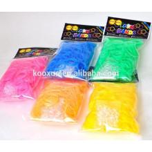Резиновые ленты с воздушным свечением
