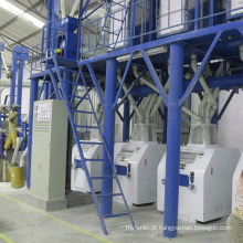 Planta de processamento de farinha de trigo