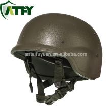 Pasgt taktischer kugelsicherer Helm mit UHMWPE HDPE oder Amarid Fiber Kevlar