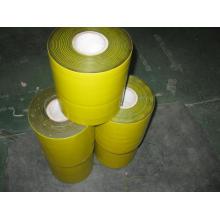Cinta antiadherente de polietileno amarillo anti corrosión
