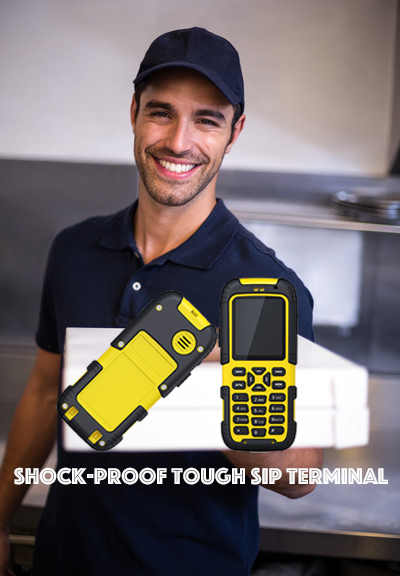 Shock-proof Tough SIP Terminal