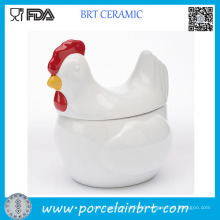 Chicken Shape Porcelain Canister for 2017 New Year