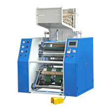 Máquina automática de rebobinado de película de estiramiento