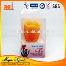 Personalized Eco-friendly Raw Material Party Decoration Scented Candles In The Shape Of Flower