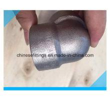 ANSI 90 grados accesorios de acero inoxidable forjado codo