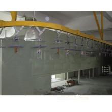 metal powder coating line