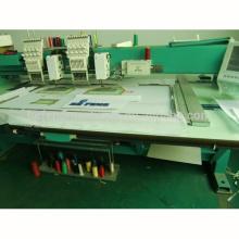 2 головки синель / промышленность тамбурной вышивки машина