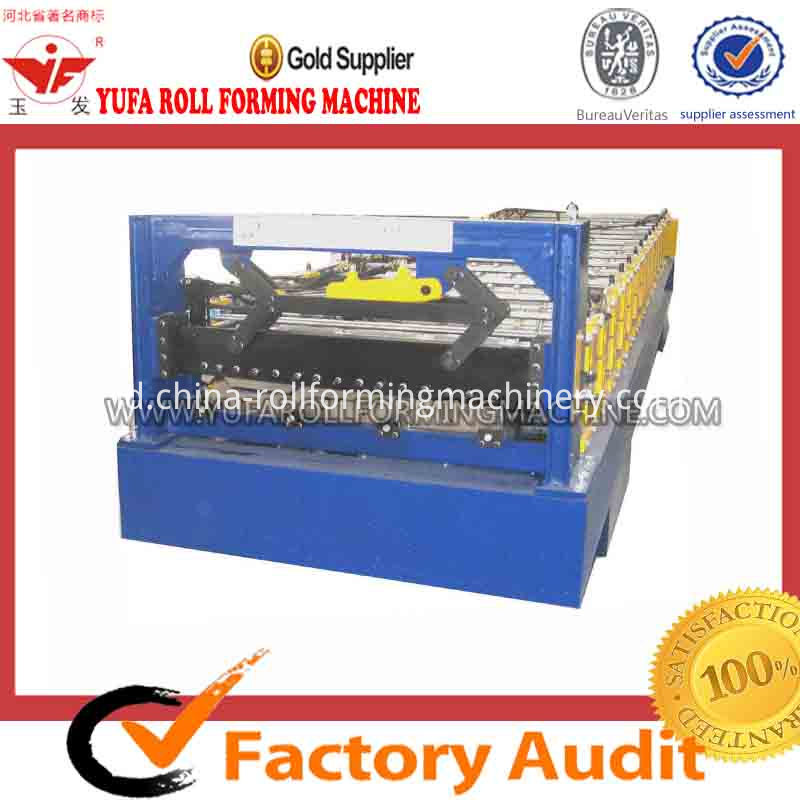 910 wall panel roll forming machine