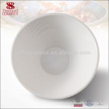 Juego de tazón de fuente de tuerca de arroz blanco puro de cerámica microonda japonesa de cerámica