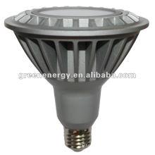Наивысшей мощности E27 Сид 16w СИД dimmable par38 свет, точечный Светильник равенства