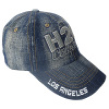 Washed Jeans Cap with Logo #12