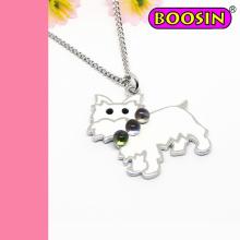 Poodle Necklace / Dog Necklace / Silver Necklace Wholesale