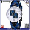 Yxl-201 Canvas Woven Strap Uhr Military Marine Nato Nylon Uhr Männer Quarz Heißer Verkauf Casual Armbanduhr