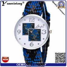 Yxl-201 Canvas Woven correa reloj militar Marine Nato Nylon reloj hombres cuarzo venta caliente Casual reloj de pulsera