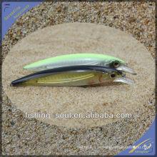 MNL036 12CM / 13G Minnow plástico duro señuelo de embalaje de pesca
