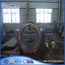 Joint flexible en acier pour tube d'aspiration sur dragueur TSHD (USC8-002)