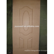New durable home moulded hdf interior door skin