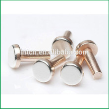 Rhos UL approved high quality Electronic Accessories silver nickel point copper rivets