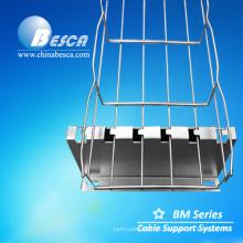 Fabricación de sistemas de soporte para bandejas de cables de malla de Besca