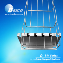 Fabricação Besca sistemas de suporte de bandeja de cabo de malha de arame