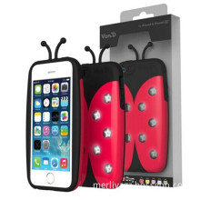 Call Lighting Bug LED Case for iPhone 5&5s with Chain