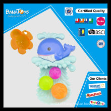 2015 Melhor bebê chuveiro brinquedos banho brinquedos peixes