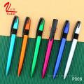 Очень Cheep Подарочные товары Рекламная пластиковая ручка Индивидуальная ручка для логотипа на продажу