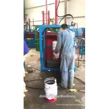 Hydraulische Ballenpresse für Kleiderballen