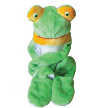 Frog animal hat with scarf and mitten attachment top quality