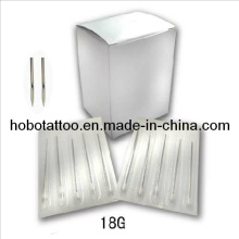 Piercing agulhas do corpo de esterilizadas descartáveis inox