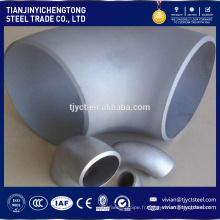 coude de 90 degrés d'acier inoxydable de qualité de 90 degrés / coude de 90 degrés d'acier inoxydable / coude inoxidable