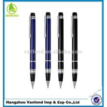 Luxe qualité métal stylo promotionnel, publicité stylo en métal