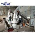 Línea de producción de pellets de residuos de pino