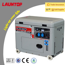 GS certified 5kW 50Hz electric start silent diesel generator