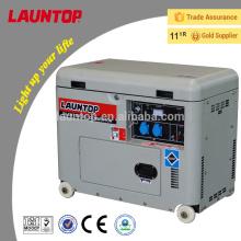 CE certificada 4.5kW ar resfriado gerador diesel à prova de som diesel