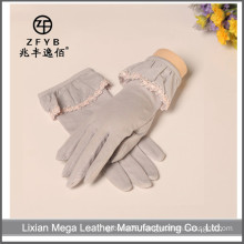 Female summer sun protection UV Cotton gloves