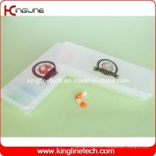Caixa de comprimidos de plástico com 7 casos (KL-9061)