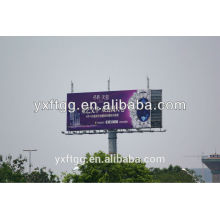billboard polygonal steel poles