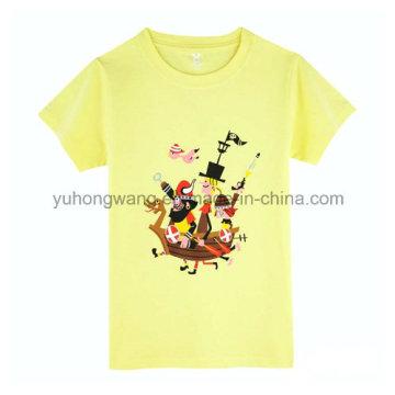 Promotion Cotton Men′s Printed T-Shirt
