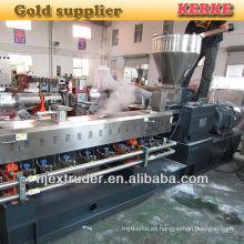 PP + máquina de la extrusora del masterbatch del relleno del carbonato del calcio