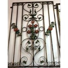 Elegant Decorative Iron Window Grill Design
