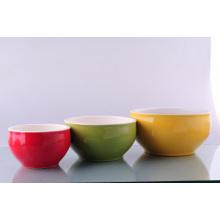 Tazón de ensalada de cerámica (CZJM3107)