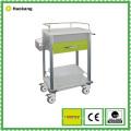 Muebles del hospital para el carro médico del tratamiento (HK805A)