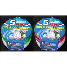 Plástico redondo para llevar Contenedor de alimentos para microondas 9.5oz