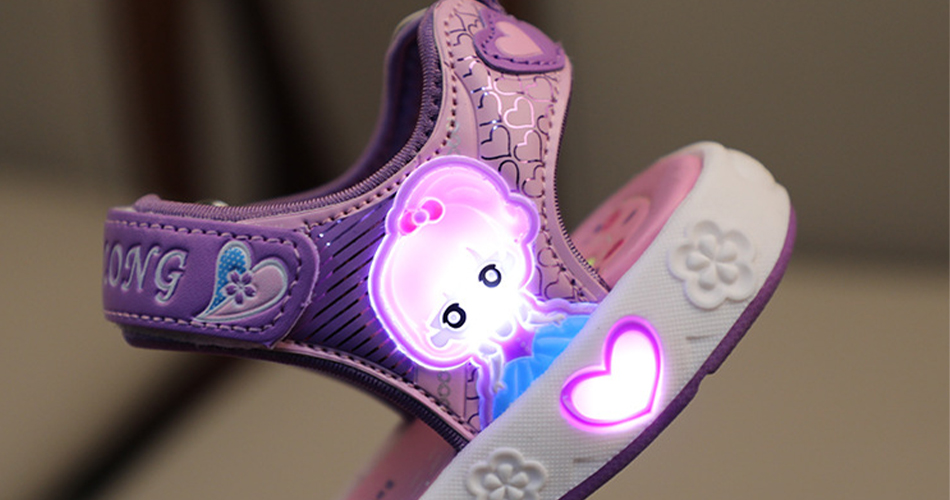 Girls LED Sandals
