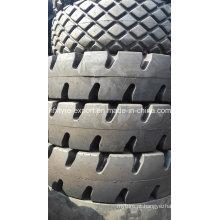 Porto pneus para guindaste, movimentação de contêineres dos pneus 12.00-24, pneu OTR