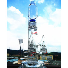 18inch 60 Diameter 5thickness Adustable Honeycomb Roll Ball Birdcage Shower Tobacco Glass Smoking Water Pipe