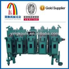 Silo acero placa de la máquina de acero silo galvanizado que hace la máquina para el material granular