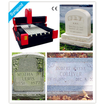 Специальный гравировальный фрезерный станок с ЧПУ SG9015 - специальный для надгробия с гравировкой ангела