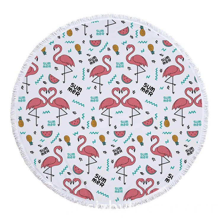 Light Weight Round Beach Towel